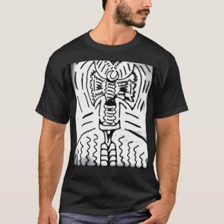 "Abstract Black/White ""Ax"" T-Shirt"