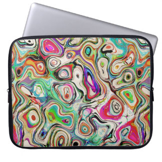 Abstract Blend of Colors Laptop Sleeve