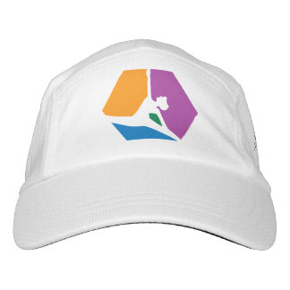 Abstract Blocks Dancer White Hat