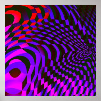 Abstract Blocks Print