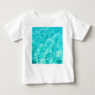 Abstract blue baby T-Shirt