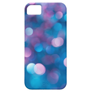 Abstract blue background iPhone 5 case