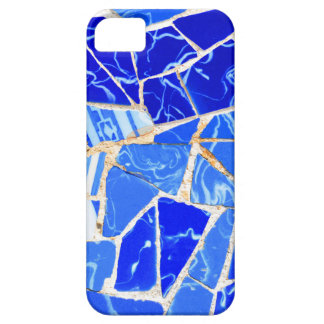 Abstract blue background iPhone 5 covers