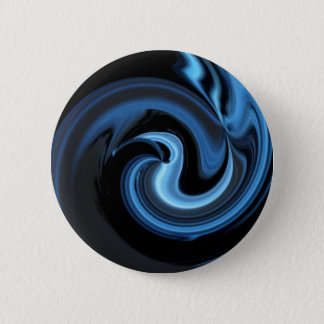 Abstract Blue Bird *personalize* 6 Cm Round Badge
