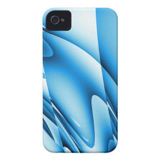 Abstract Blue Designer Blackberry Phone Case iPhone 4 Case-Mate Case