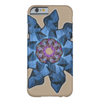 Abstract Blue Flower iPhone 6/6S Case