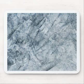 Abstract Blue Gray Chack Texture Mouse Pad