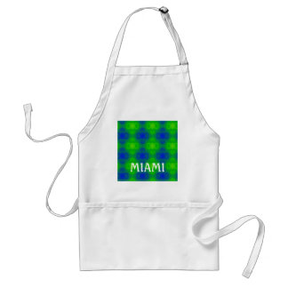 Abstract Blue Greens Standard Apron
