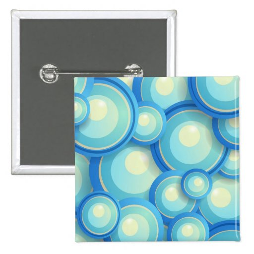 Abstract blue in green buttons