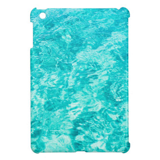 Abstract blue iPad mini case