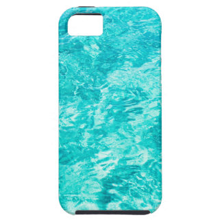 Abstract blue iPhone 5 cases