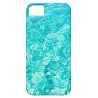 Abstract blue iPhone 5 covers