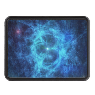 Abstract Blue Nebula Hitch Covers