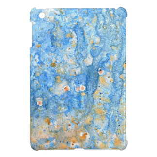 Abstract blue painting cover for the iPad mini
