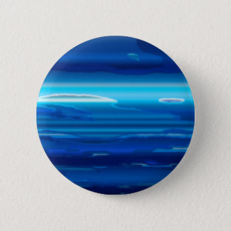 Abstract Blue Sky 6 Cm Round Badge