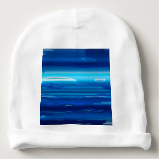 Abstract Blue Sky Baby Beanie