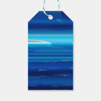 Abstract Blue Sky Gift Tags