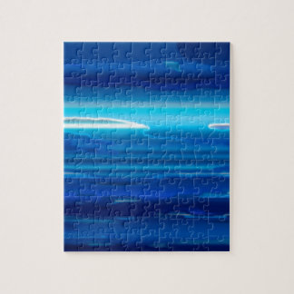 Abstract Blue Sky Jigsaw Puzzle