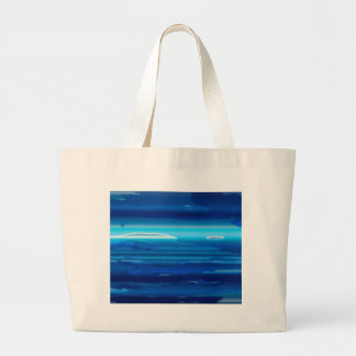 Abstract Blue Sky Large Tote Bag