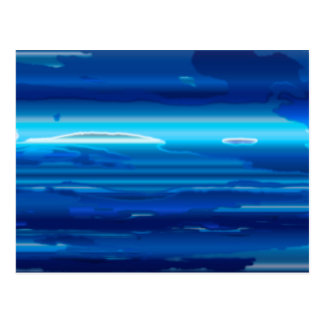 Abstract Blue Sky Postcard