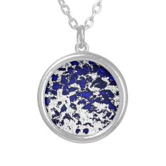 Abstract Blue Spots Jewelry