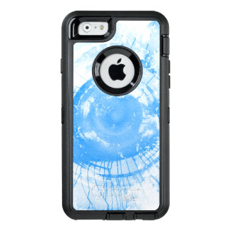 Abstract blue watercolor background, texture. OtterBox iPhone 6/6s case