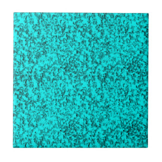 abstract blues ceramic tile