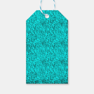 abstract blues gift tags