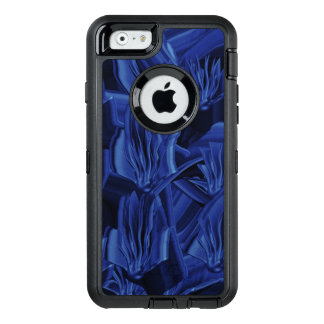 Abstract Blues OtterBox Defender iPhone Case