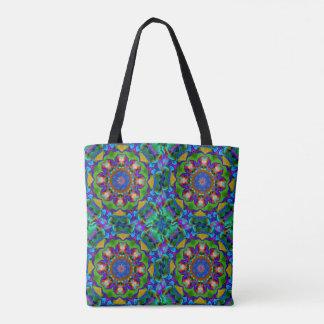 Abstract BlueTile Tote Bag