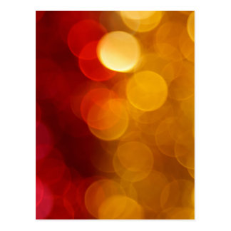 Abstract Blurred Background Postcard