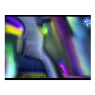 Abstract Blurring Postcard