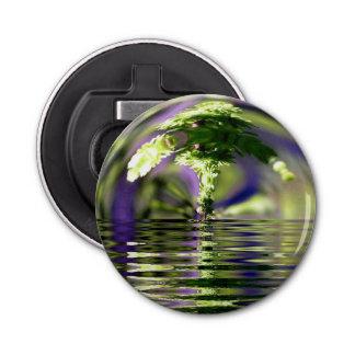 Abstract Bonsai Globe Bottle Opener