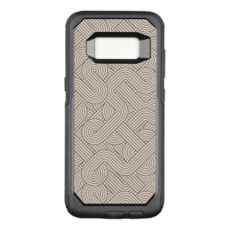 Abstract border OtterBox commuter samsung galaxy s8 case
