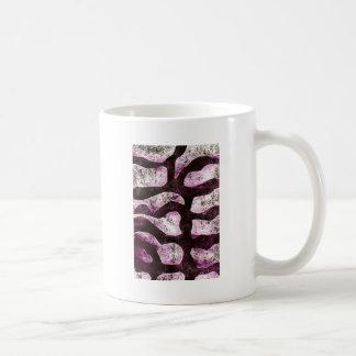 abstract branch print coffee mugs