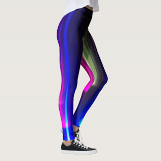 Abstract Bright Lights Leggings