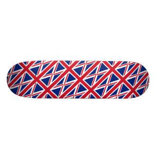 ABSTRACT BRITISH FLAG DESIGN SKATEBOARD DECK