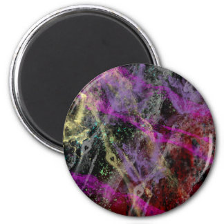 Abstract Brush Strokes Design Magnet