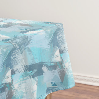 abstract brush strokes pattern. tablecloth