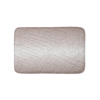 Abstract brushed metallic texture bath mat