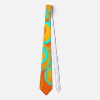 Abstract Bubbles Tie