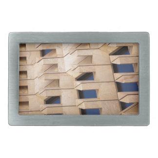 Abstract building rectangular belt buckles