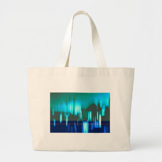 Abstract Building Silhouettes Jumbo Tote Bag