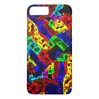 abstract buildings iPhone 7 plus case