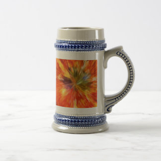 Abstract Burst Beer Steins