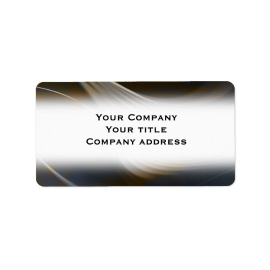 Abstract Business Address Avery Label Address Label