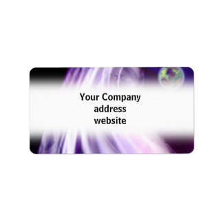 Abstract Business Mailing Label Address Label