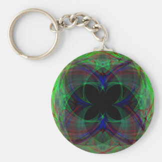Abstract Butterfly 2 Keychains