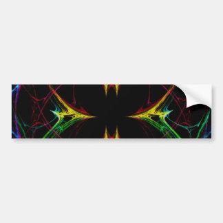 Abstract Butterfly 3 Car Bumper Sticker