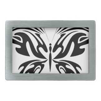 Abstract Butterfly Belt Buckles